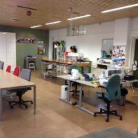 Lichte praktische werkruimte Atelier Cilhouette Eindhoven