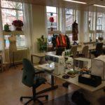 praktische werkruimte Atelier Cilhouette Eindhoven voor naailes