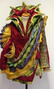 Kameleon kostuum Carnaval Atelier Cilhouette