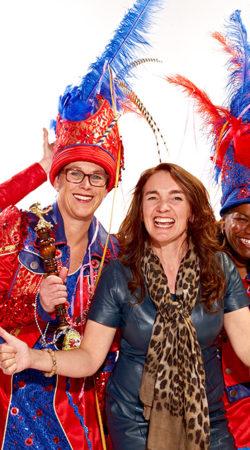 atelier Cilhouette carnavalskostuums en de dames van Prinses Rita uit Maarheeze