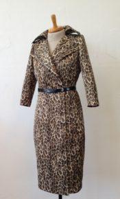 Leopard dress à la Gwen Stefani maatkleding Atelier Cilhouette