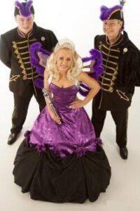 prinses carnaval kostuum adjudant