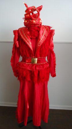 Rood  carnavalskostuum Atelier Cilhouette Eindhoven