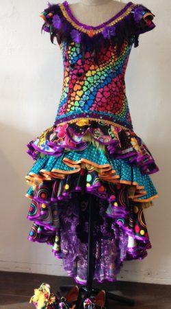 Spaanse jurk carnavalskostuum Atelier Cilhouette