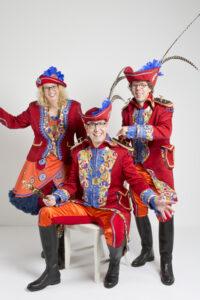 Prinsen Prinses Adjudant Kostuums Carnaval Maarheeze 2016