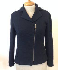 tricot colbert gemaakt door Roos
