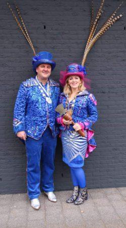 Linda en Geert, prinses en adjudant Dommelen 2018-2019